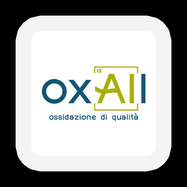 Logo e sito web Oxall Ossidazione anodica - Maingage, Web agency Bari