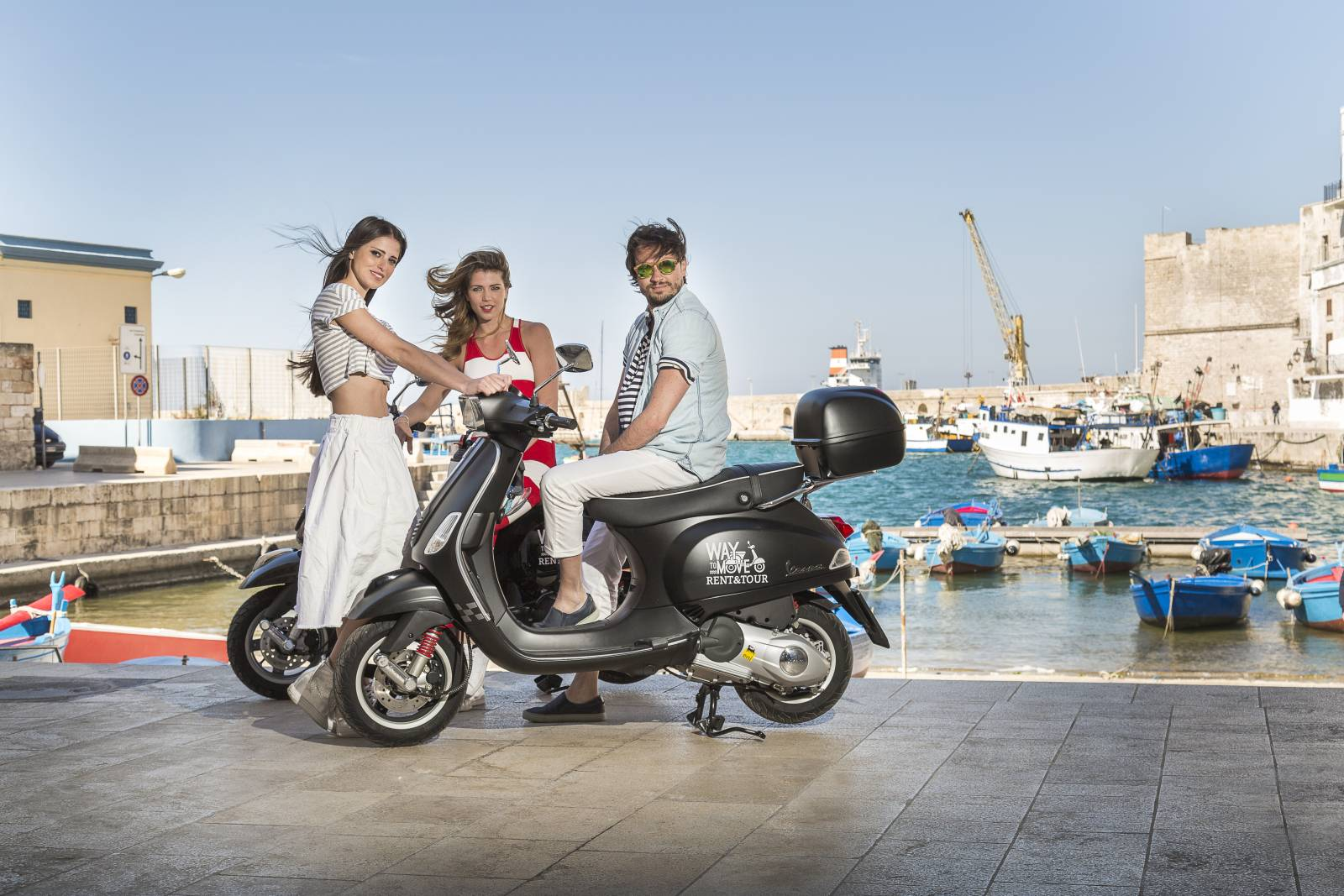 Sito web Turismo Noleggio Veicoli: Way to Move - Maingage, Web Agency Bari