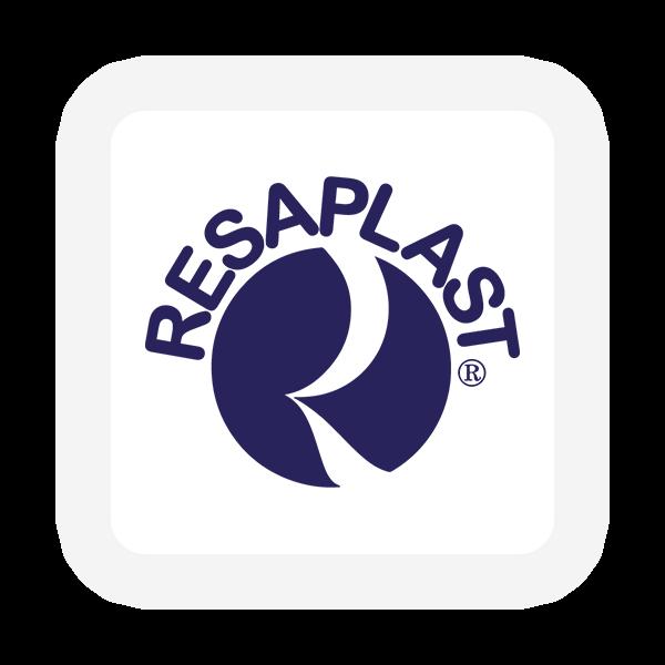 Logo Resaplast - Produttori Contenitori Plastica - Maingage, Web agency Bari