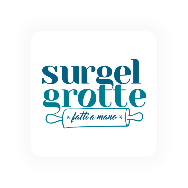 Logo Surgelgrotte surgelati - Maingage, Web agency Bari